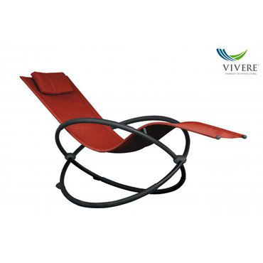 Dům a zahrada - Zahradní houpací lehátko Vivere Orbital, červené