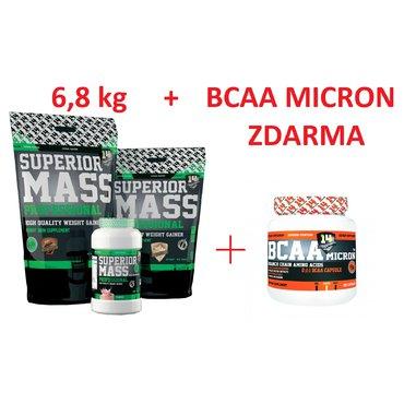 Dům a zahrada - Superior 14 Superior Mass Professional 6810 g + BCAA MICRON ZDARMA