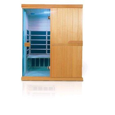 Infrasauny a sauny - INFRASAUNA DeLUXE 3003 CARBON-BT