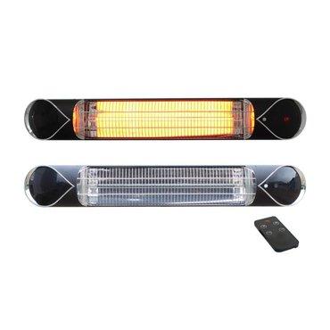 Infravytápění, infrazářiče - Karbonový infrazářič THERMOWELL IQtherm IQ-STAR 2000 W black