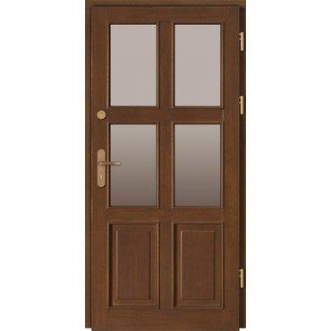 Dveře a zárubně - Vchodové dveře Doorsy LINCOLN prosklené, model 1