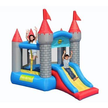 Pro děti, hry, hračky - Happy Hop Pětiúhelníkový hrad se skluzavkou