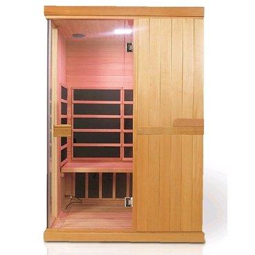 Infrasauny a sauny - HealthLand infrasauna DeLuxe 2200 Carbon - BT