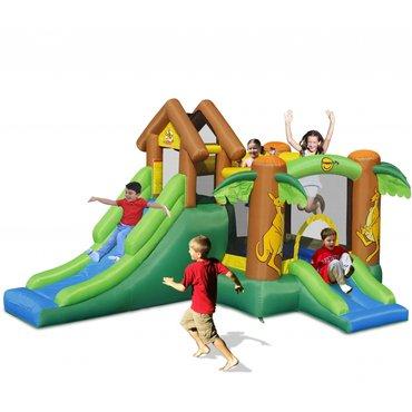 Pro děti, hry, hračky - Happy Hop Klokánkův dům Happy Hop 9071 nafukovací hrad, fukar, míčky