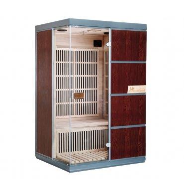 Infrasauny a sauny - HealthLand  DeLuxe 2223 Carbon BT infrasauna
