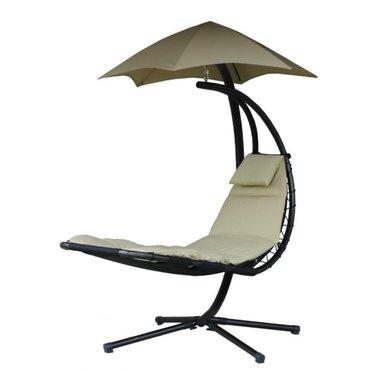 Dům a zahrada - Závěsné houpací lehátko Vivere Original Dream Chair, písková