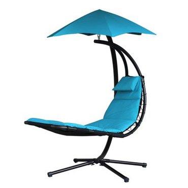 Dům a zahrada - Závěsné houpací lehátko Vivere Original Dream Chair, tyrkysová
