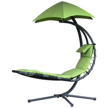 Dům a zahrada - Závěsné houpací lehátko Vivere Original Dream Chair, zelená
