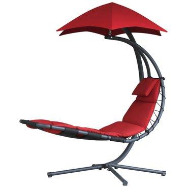 Dům a zahrada - Závěsné houpací lehátko Vivere Original Dream Chair, červená