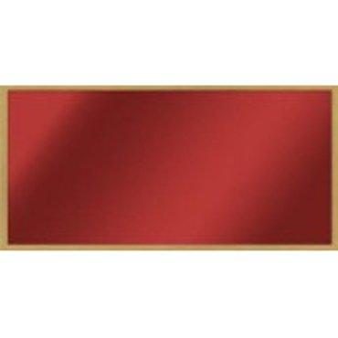 Infravytápění, infrazářiče - Skleněný topný panel 500 W, rám dub