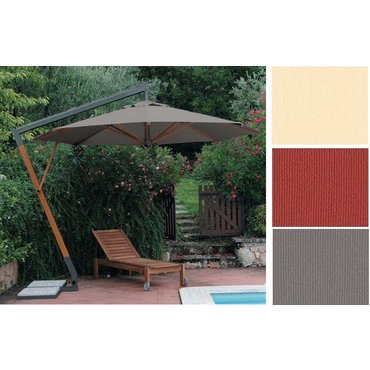 Dům a zahrada - Slunečník Torino Braccio kruhový přírodní barva