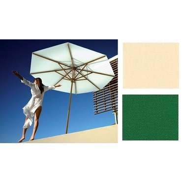 Dům a zahrada - Slunečník Palladio Standard kruhový zelená barva