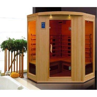 Infrasauny a sauny - HealthLand INFRASAUNA DeLUXE 4440 CB/CR rohová