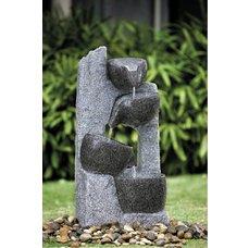 Kamenné misky zahradní fontána