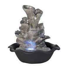 Pokoj. fontána KVĚT