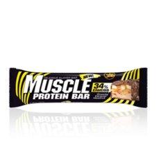 MUSCLE PROTEIN BAR 80g, 1 tyčinka, 34% proteinu
