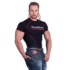 MADMAX Kompresní triko s krátkým rukávem MSW901