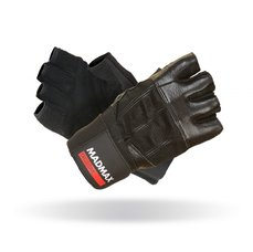 MADMAX Fitness rukavice PROFESSIONAL BLACK MFG269