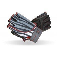 MADMAX Fitness rukavice NINE ELEVEN zebra MFG911