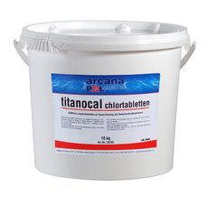 Chlorové tablety 10 kg - Titanocal