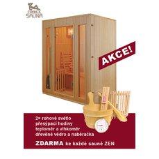 Finská sauna pro tři osoby Zen 3, dárek ZDARMA
