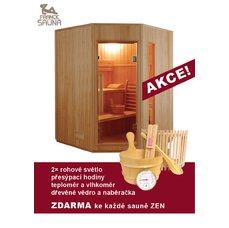 Finská sauna pro tři až čtyři osoby Zen 3-4, dárek ZDARMA