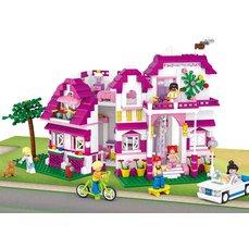 Sluban Girls Dream Luxusní vila, 726 dílků