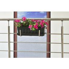 Dastech Nerezový držák květinového truhlíku na zábradlí