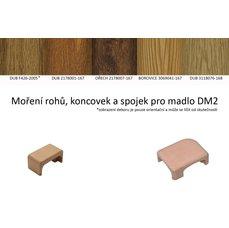 DA2 - roh levý panelákového madla dub - ořech 2178007-167 + lak