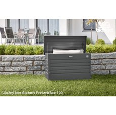 Biohort Úložný box FreizeitBox 100, tmavě šedá metalíza