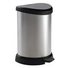 Odpadkový koš DECOBIN pedal 20l - stříbrný