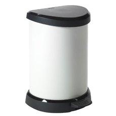 Odpadkový koš DECOBIN pedal 20l - krémová