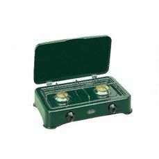CF PARKER Dvouplotýnkový plynový vařič zelený VIP CF PARKER