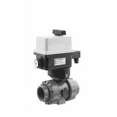 Kulový el. dvoucestný ventil 50 mm