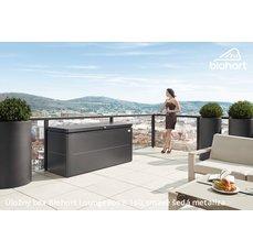 Biohort Úložný box LoungeBox® 200, tmavě šedá metalíza