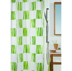 Sprchový závěs SEAGRASS GREEN 240 x 180 cm