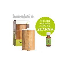 Bamboo ultrasonický aroma difuzér HANSCRAFT+ 100% BIO esenciální vonný olej ZDARMA