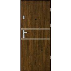 Vchodové dveře VERTE FORES intarzie, model 4