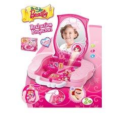 G21 Dětský kosmetický kufřík s příslušenstvím s projekcí 008-809