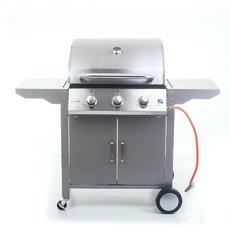 G21 Plynový gril Oklahoma, BBQ Premium Line 3 hořáky