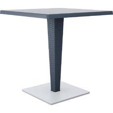 SIESTA EXCLUSIVE; Stůl RIVA šedý