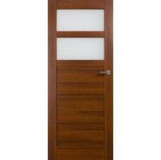 Interiérové dveře BRAGA kombinované bezfalcové, model 3