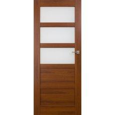 Interiérové dveře BRAGA kombinované bezfalcové, model 4