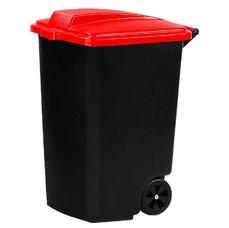 Kontejner na kolečkách 100 l černá/zelená