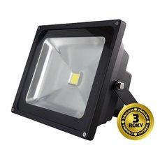 Solight Reflektor LED WM-30W-E venkovní, 30W, 2400lm, AC 230V, černá