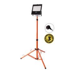 Solight Reflektor LED WM-50W-FVS venkovní s vyskokým stojanem, 50W, 4250lm, AC 230V