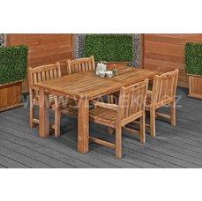 Zahradní stůl Modern z teakového dřeva Vladeko
