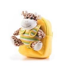 G21 s plyšovou žirafou,