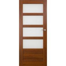 Interiérové dveře BRAGA kombinované bezfalcové, model 5