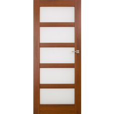 Interiérové dveře BRAGA skleněné bezfalcové, model 6